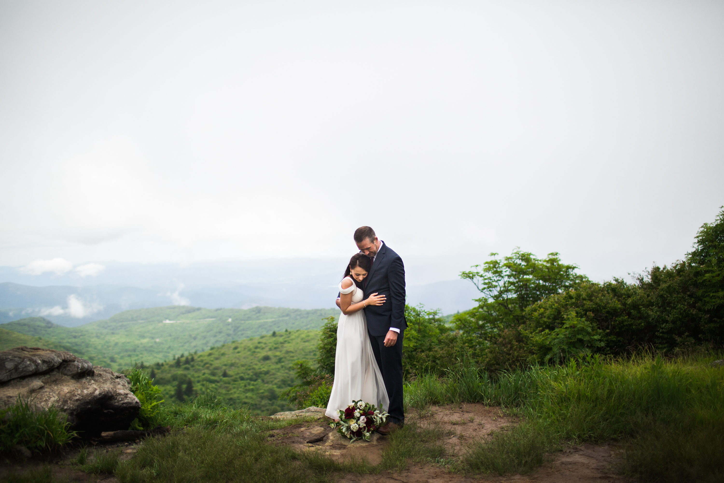 Epic mountain elopement
