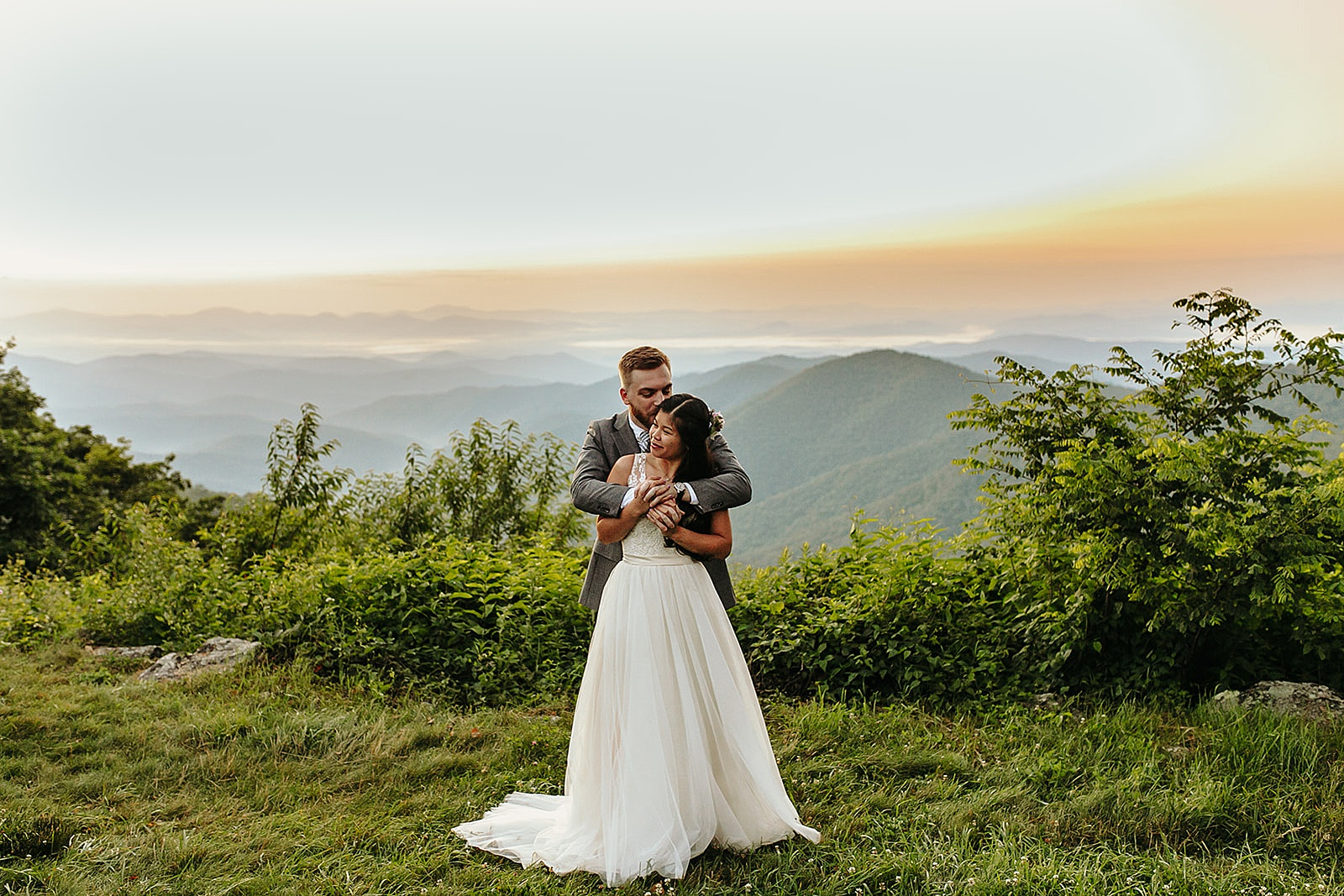 Asheville Wedding Photographer, Asheville Wedding Photos, Asheville Engagement Photographer, North Carolina Wedding Photographer, Asheville Elopement Photos, Asheville Elopement Photographer, Asheville Wedding Venues, Blue Ridge Parkway Elopement, Sunrise Elopement at Blue Ridge Parkway